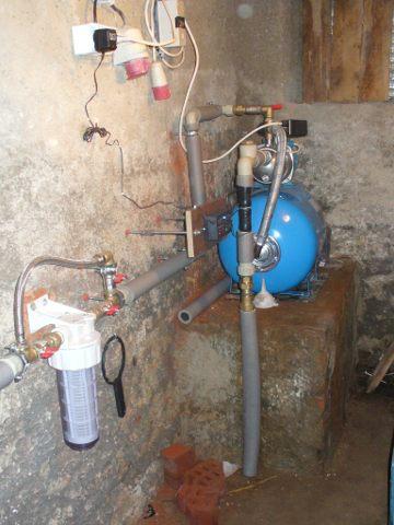 Instalace domácí vodárny